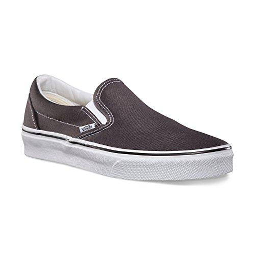 Vans Classique Chaussures À Enfiler (charbon De Bois) (11.5 Hommes / 13 Femmes)