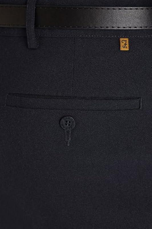 Farah Frogmouth z kieszenią luźne eleganckie spodnie - niebieski: Odzież
