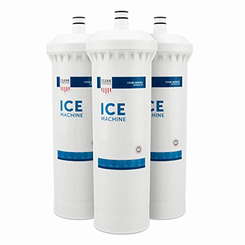 Clear Choice Ice Filtration System Replacement Cartridge for CUNO 55600-01 55600-09 AP500 AP510 AP51706 AP522 CFS517 CS-61 CS500 Also Compatible with 3M 70020015189 70020041458 70020041466, 3-Pack by Clear Choice