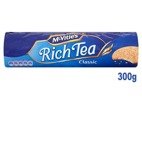 Mcvities Rich Tea Biscuits 300g By Mcvities Amazoncouk