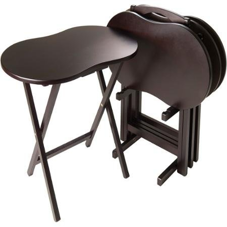 winsome-skippy-espresso-portable-tv-table-set-peanut-top-set-of-5-by-skippy