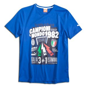 PUMA FIGC Italy Graphic T-Shirt