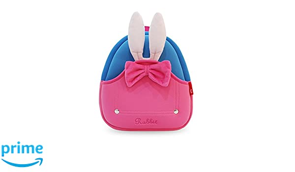 69a59f864bd3 Amazon.com  Coavas Toddler Girl Backpack Cute Rabbit Backpck for Little  Girl Preschooler Christams Gift  Clothing