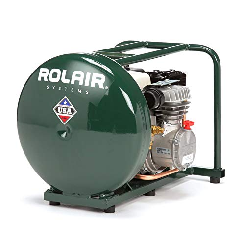 Rolair GD4000PV5H 4.5 Gallon Gas Powered Cordless Small Portable Air Compressor