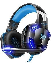 Tsing Casque Audio Stéréo - EACH G2000 - Rechargeable - Ecouteurs avec Microphone Intégré - Gaming