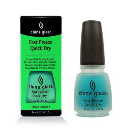 - (3 Pack) CHINA GLAZE Fast Freeze Quick Dry - CGT911