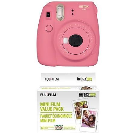 Fujifilm Instax Mini 9 Instant Camera - Flamingo