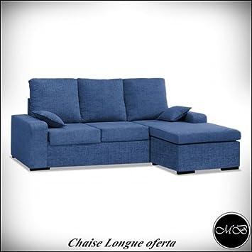 Muebles Baratos Sofas Chaise Longue 3 4 Sitzer Wohnzimmer Sofa Chaiselongue  Cheslong Esszimmer Ref 04
