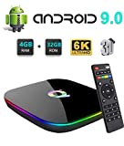 Q Plus Android 9.0 TV Box, Android...
