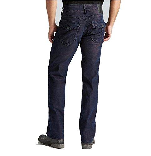 (True Religion Ricky Two Tone Corduroy Mens Pants, Tobacco (42))