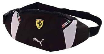 Puma Men's Ferrari Replica Waist Bag, Black, One Size