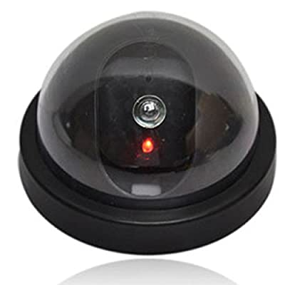 Emulational Fake Decoy Dummy Dome Camera With Bliking LED IR Fake CCTV Camera Outdoor Waterproof Emulational Camera