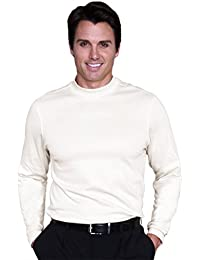 Mens Long sleeve Mock Shirt #1162