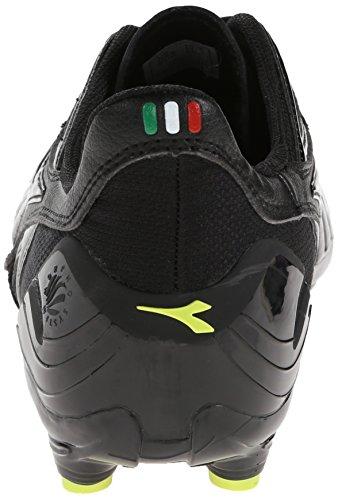 Soccer Maracana Fluorescent Black Yellow L Men's Diadora Soccer Cleat dUfCd