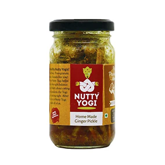 Nutty Yogi Home Made Ginger Pickle