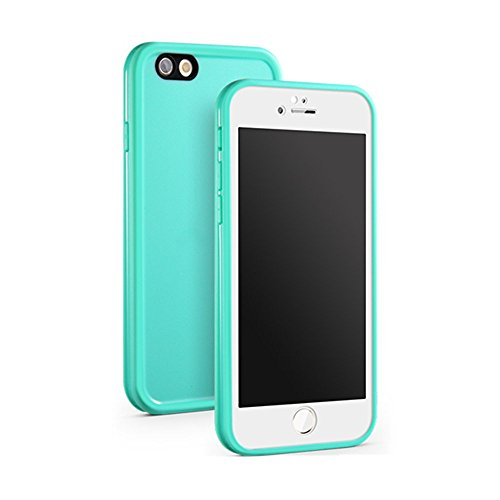 LUOJIE Waterproof Shockproof Snowproof Dirtpoof Protection Case Cover with Touch ID For iPhone6,iPhone6s,iPhone6Plus,iPhone6sPlus,iPhone5s,iPhoneSE (4.0) (Reseda, 5.5)
