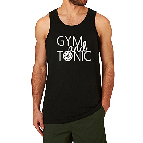 Tonic Top - Loo Show Mens Gym and Tonic New Design Fitness Workout Casual Tank Tops