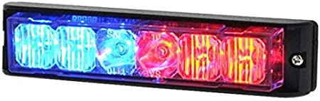 Strobes N More E6 Next Gen LED Amber//Clear