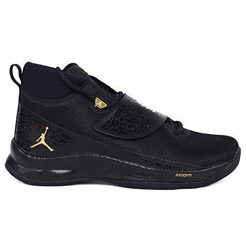フォアマン作る上院議員Nike(ナイキ) JORDAN/ジョーダン スーパーフライ 5 PO Superfly 5 881571-015 (ブラック/メタリックゴールド/ブラック/アンスラサイト) - US9(27cm)