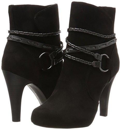 Noir Bottes black 25904 Tamaris Femme wpCvvq