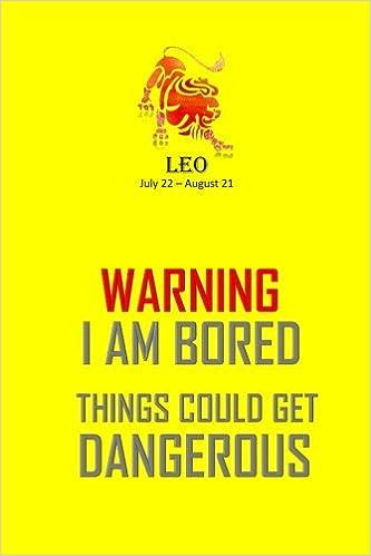Leo Horoscope Sign Notebook: Leo Astrology Journal 2018 - Zodiac
