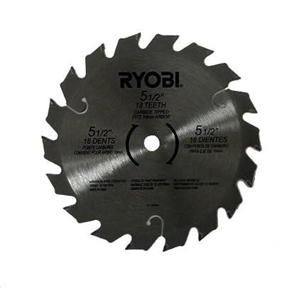 Ryobi 18v p503 p504 p506 2 pack 5 12 carbide tipped circular saw ryobi 18v p503 p504 p506 2 pack 5 12quot carbide tipped greentooth Choice Image