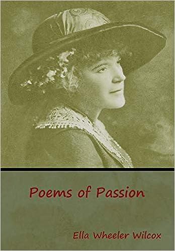 Poems Of Passion Amazones Ella Wheeler Wilcox Libros En