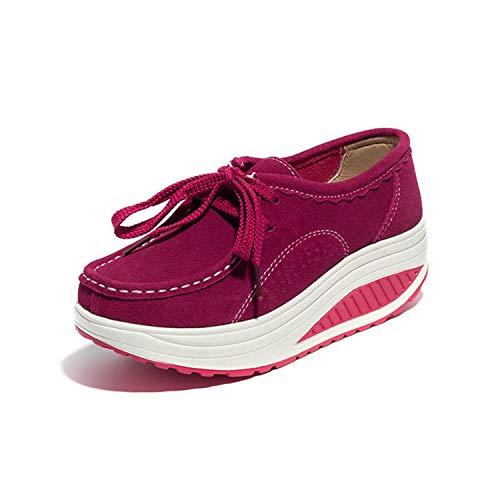 トラップブレンドレバーSanguine レディース 厚底スニーカー ダイエットシューズ 船型底ナースシューズウォーキングシューズ スニーカー ランニング 姿勢矯正 スポーツ 厚底 船型底 美脚 レースアップ アウトドア クッション 疲れにくい 作業靴 看護師 履きやすい
