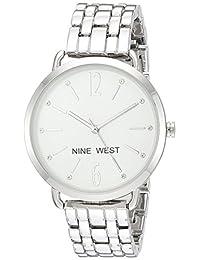 Reloj Nine West para Mujer 36mm, pulsera de Acero Inoxidable