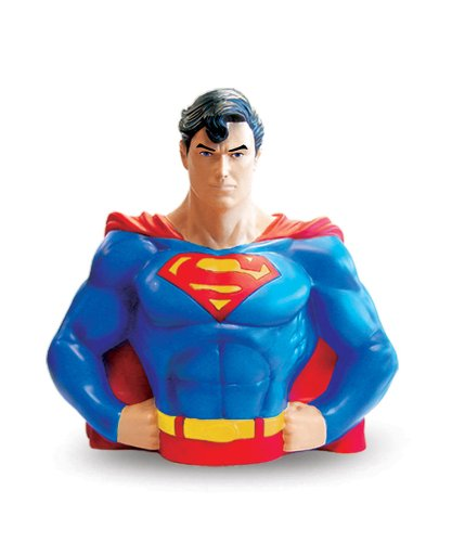 - Monogram International Superman Vinyl Bust Bank