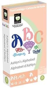 Cricut Cartridge, Ashlyn's Alphabet