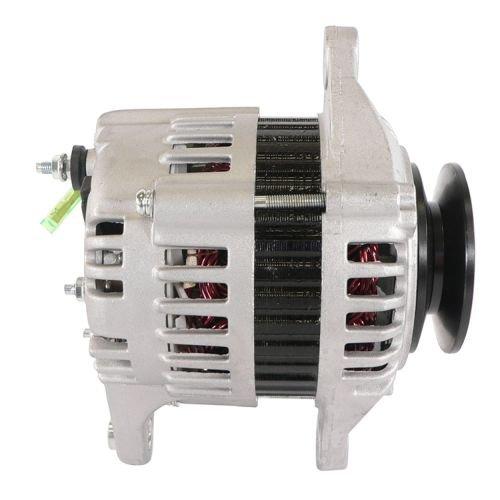 DB Electrical AHI0061 New Alternator For John Deere 3012 3015, Skid Steer 4475 55751994-1998, Samsung Se503 Se50-3 Excavator 1992-1998 Yanmar 4Tne94 Eng LR140-714B 113401 DD-E6306-64012 119836-77200-2