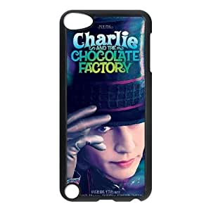ipod touch 5 phone cases Black Charlie and the Chocolate Factory cell phone cases Beautiful gift YTRE9366182