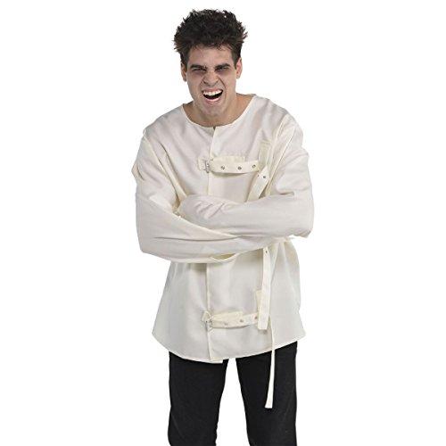 AMSCAN Asylum Straight Jacket Halloween Costume for Men, One ()