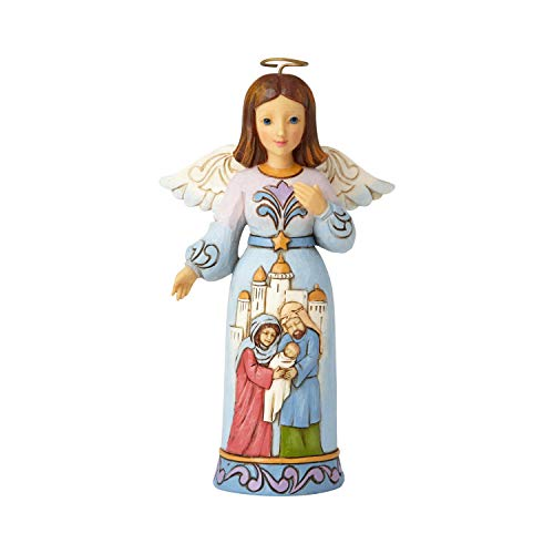 Enesco Jim Shore Heartwood Creek Pint Size Nativity Angel Figurine, 5.5