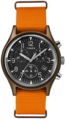 Timex Mens Chronograph Quartz Watch with Nylon Strap TW2T10600