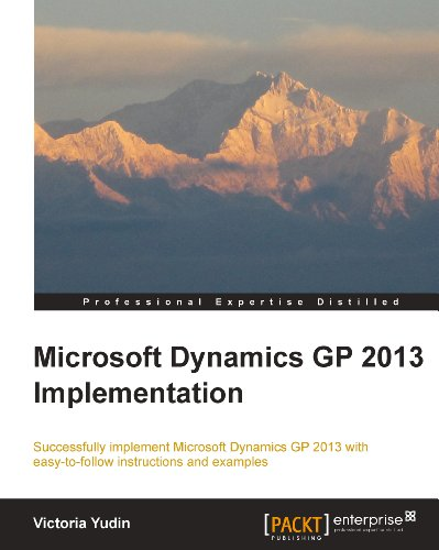 Microsoft Dynamics GP 2013 Implementation Pdf