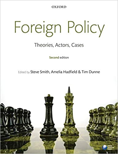 Foreign Policy: Theories, Actors, Cases por Steve Smith