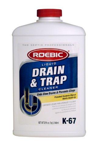 Roebic K-67L-Q 32-Ounce Liquid Drain And Trap Cleaner - Liquid Drain Trap