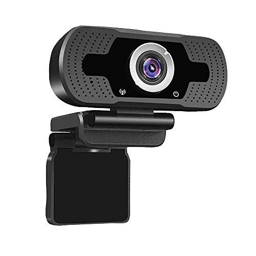 1080P Webcam, NP HD PC Webcam USB Mini Computer Camera Built-in Microphone - USB Web Camera for Live Streaming, Video Calling and Recording - Computer PC Desktop Laptop with 110° Wide View Angle