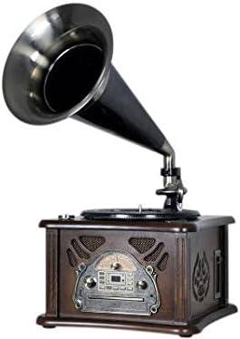 Roadstar HIF-1800TUMPK Negro, Marrón tocadisco: Amazon.es: Electrónica