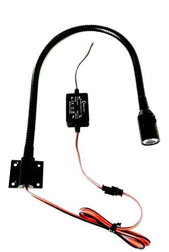 LED 12-24V Leseleuchte mit Schalter Schwanenhals map light Co-Pilot Wohnmobil PowerLight