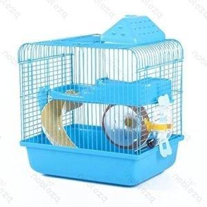 Nobleza 021406 - Jaula Para roedores, Color Azul con Tobogán y Una ...