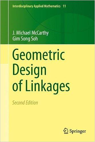 Geometric Design of Linkages (Interdisciplinary Applied Mathematics)
