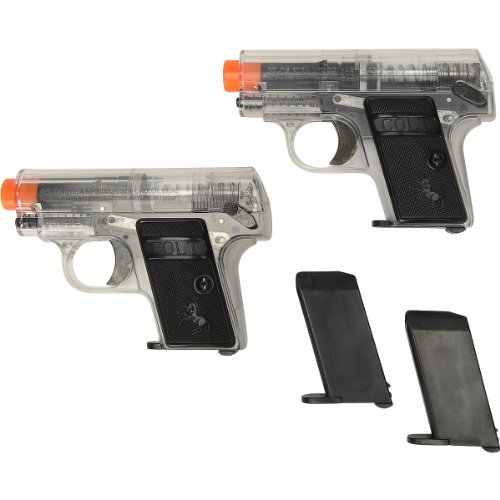 colt .25 spring pistol twin pack(Airsoft Gun)