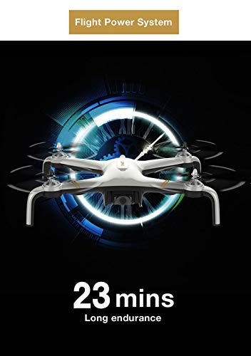 MOZATENEW C-Fly Smart GPS 2.4G WiFi FPV 1080P HD Cam Foldable Brushless RC Drone Quadcopter (White) by MOZATE (Image #7)