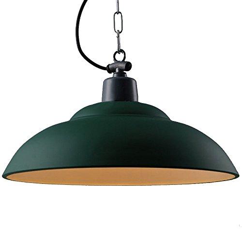 Dark Green Pendant Light