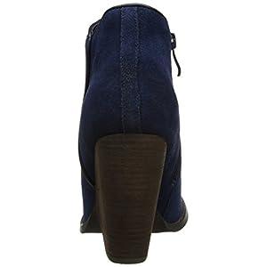 Very Volatile Women's Whitby Boot,Navy,8.5 B US