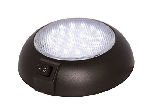LED Dome Light - High Power Natural White 4000K LED Downlight - 12 Volt - Fixed Mount - for Home, Auto, Truck, RV, Boat and ()