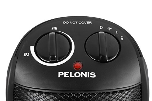 PELONIS 2-Level Ceramic Heater Adjustable